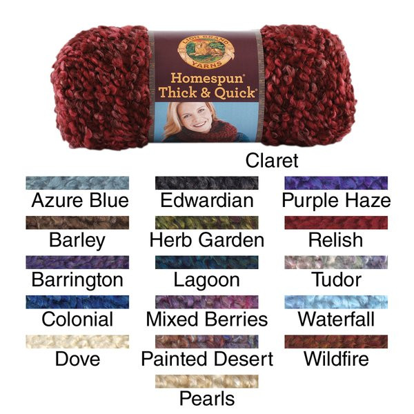 Homespun Thick & Quick Yarn Free Shipping Orders Over
