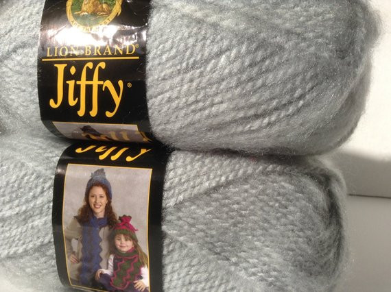 Lion Brand Jiffy Yarn Best Of Lion Brand Yarn Jiffy In Color Pearl Gray Lot Of 5 Skeins Of Incredible 40 Ideas Lion Brand Jiffy Yarn