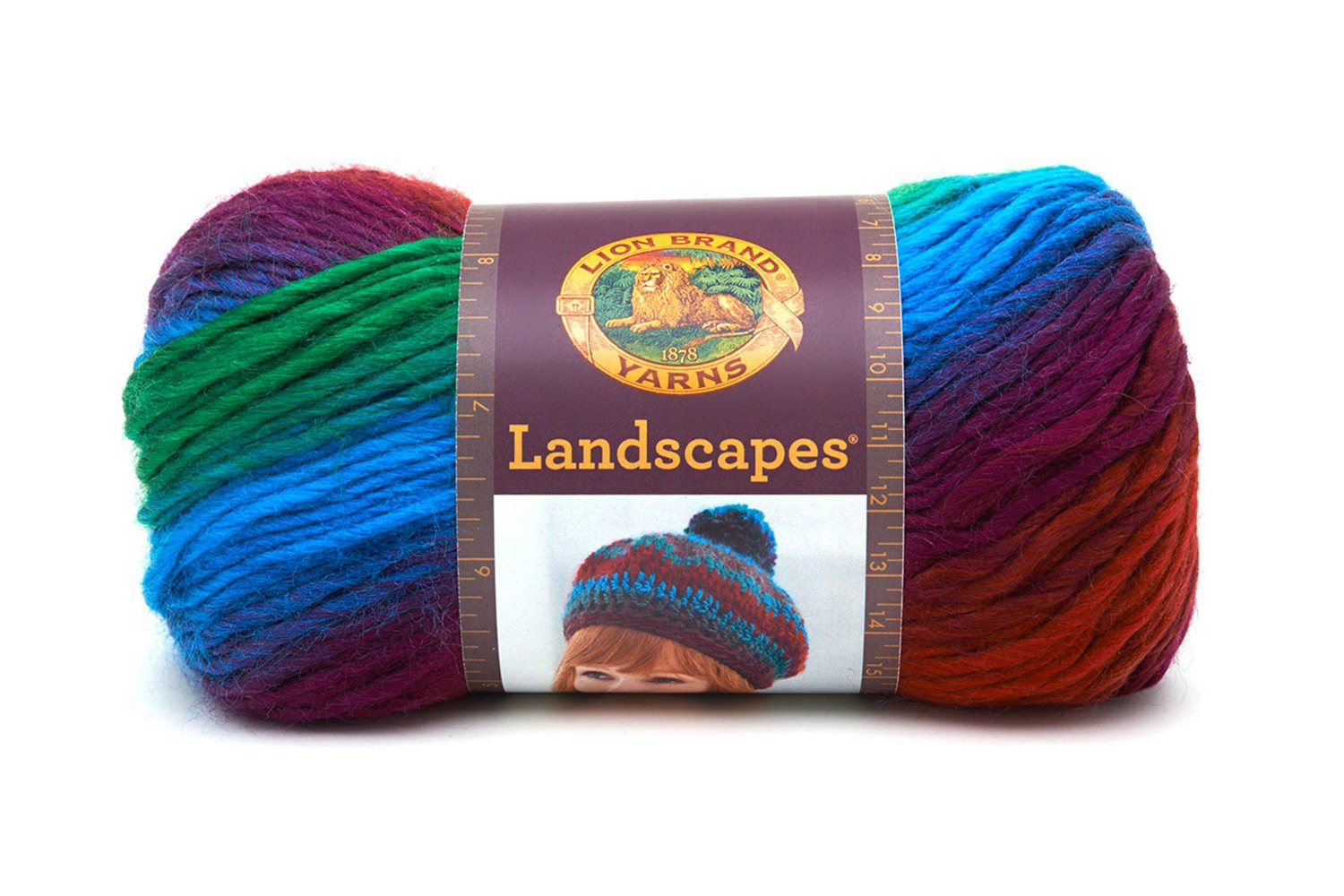 Lion Brand Landscapes Yarn New Lion Brand Landscapes Self Stripig Yarn In Apple orchard Of Luxury 43 Images Lion Brand Landscapes Yarn