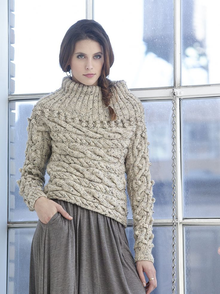 Lion Brand Patterns Beautiful Sideways Cable Pullover by Vladimir Teriokhin Free Of Perfect 48 Pictures Lion Brand Patterns