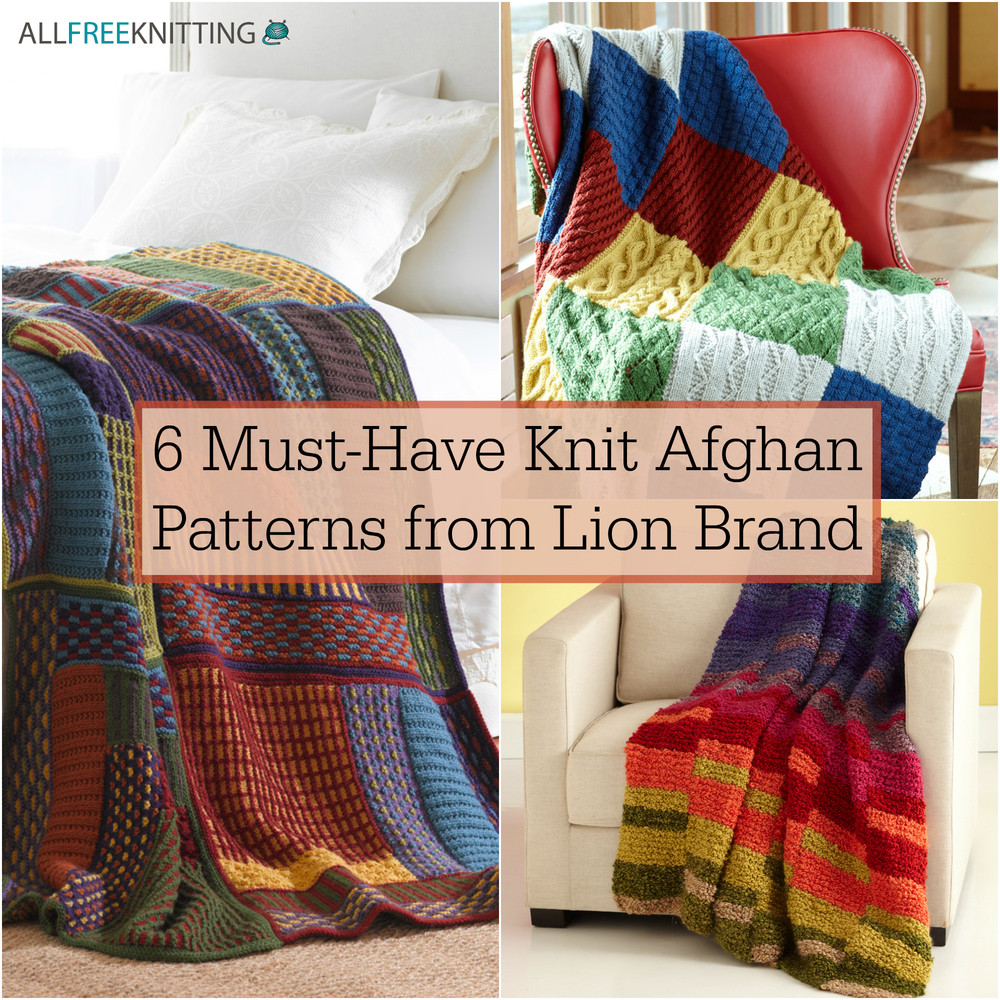 Lion Brand Patterns Lovely 6 Must Have Knit Afghan Patterns From Lion Brand Of Perfect 48 Pictures Lion Brand Patterns