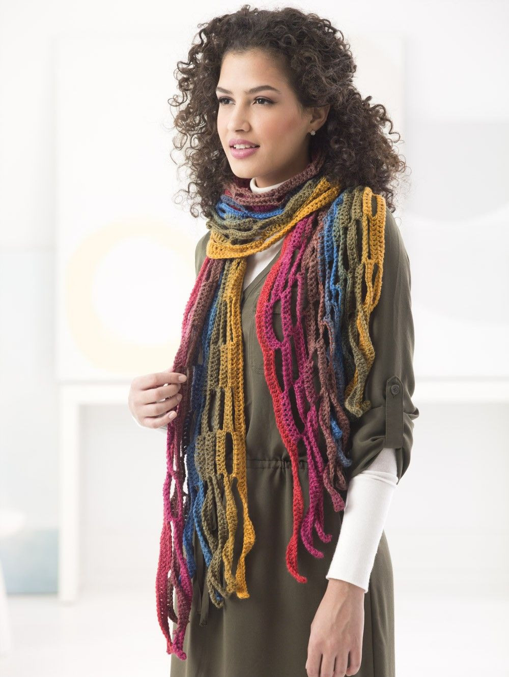 Lion Brand Patterns Lovely Mesh Scarf Crochet Lion Brand Yarn Of Perfect 48 Pictures Lion Brand Patterns