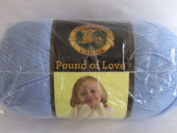 Lion Brand Pound Of Love Awesome Lion Brand Pound Of Love Yarn Periwinkle Blue by Of Top 40 Models Lion Brand Pound Of Love