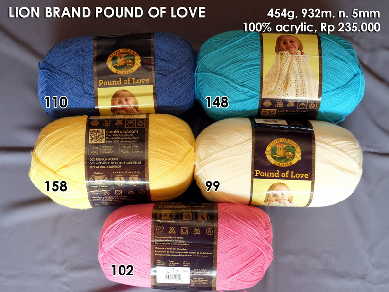 Lion Brand Pound Of Love Beautiful Benang Usa New Arrival August 2014 Of Top 40 Models Lion Brand Pound Of Love