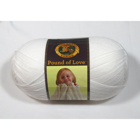 Lion Brand Pound Of Love Lovely Lion Brand Pound Of Love Yarn White 16 Oz From Of Top 40 Models Lion Brand Pound Of Love