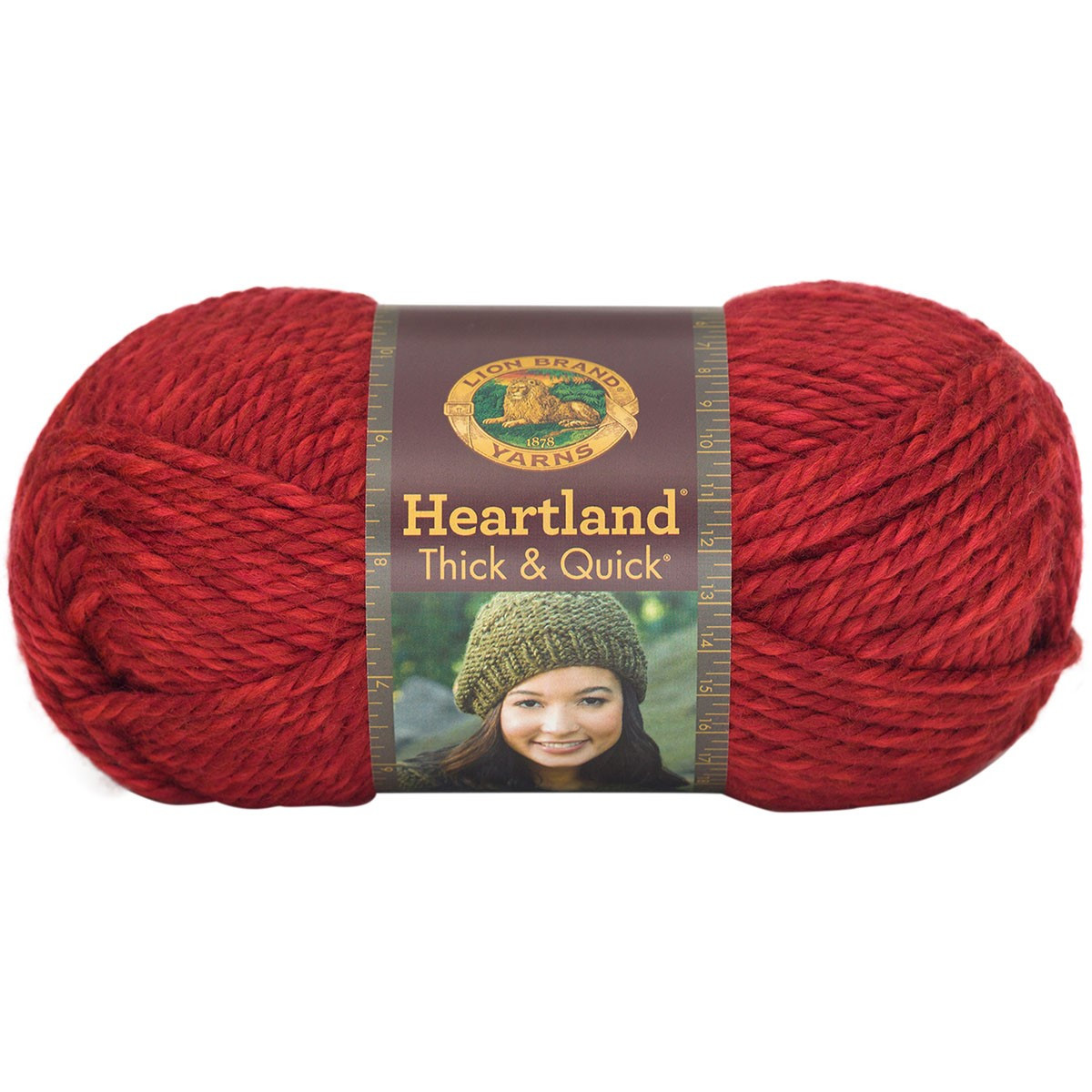 Lion Brand Thick and Quick Lovely Heartland Thick & Quick Yarn Redwood Of Fresh 48 Pics Lion Brand Thick and Quick