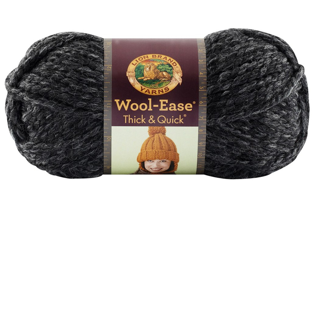 Lion Brand Wool Ease Thick & Quick Yarn Solids
