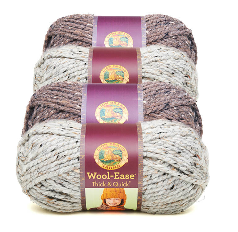 Lion Brand Wool Ease Beautiful Lion Brand Wool Ease Thick & Quick Yarn Of Lion Brand Wool Ease Elegant Lion Brand Wool Ease Crochet Yarn & Wool