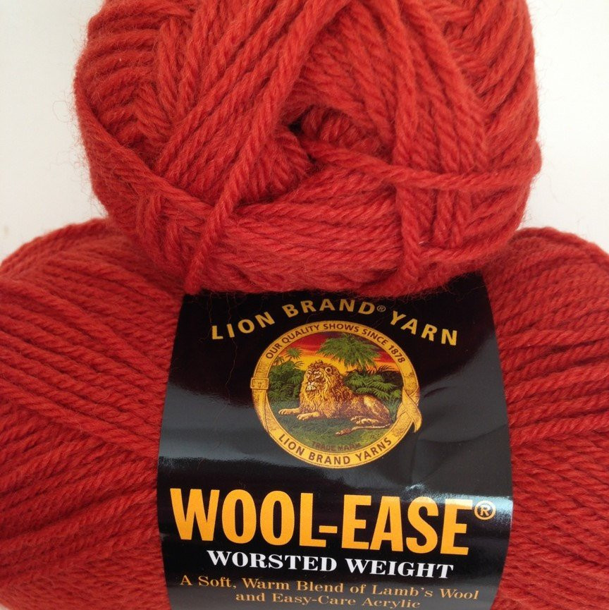 Lion Brand Wool Ease Fresh Lion Brand Wool Ease Yarn Color Paprika Fiber Acrylic and Of Lion Brand Wool Ease Elegant Lion Brand Wool Ease Crochet Yarn & Wool