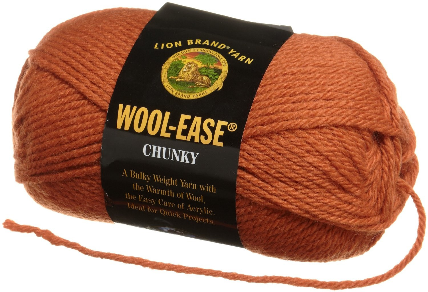 Lion Brand Wool Ease Inspirational Lion Brand Yarn 630 153 Wool Ease Chunky Yarn Black Of Lion Brand Wool Ease Elegant Lion Brand Wool Ease Crochet Yarn & Wool