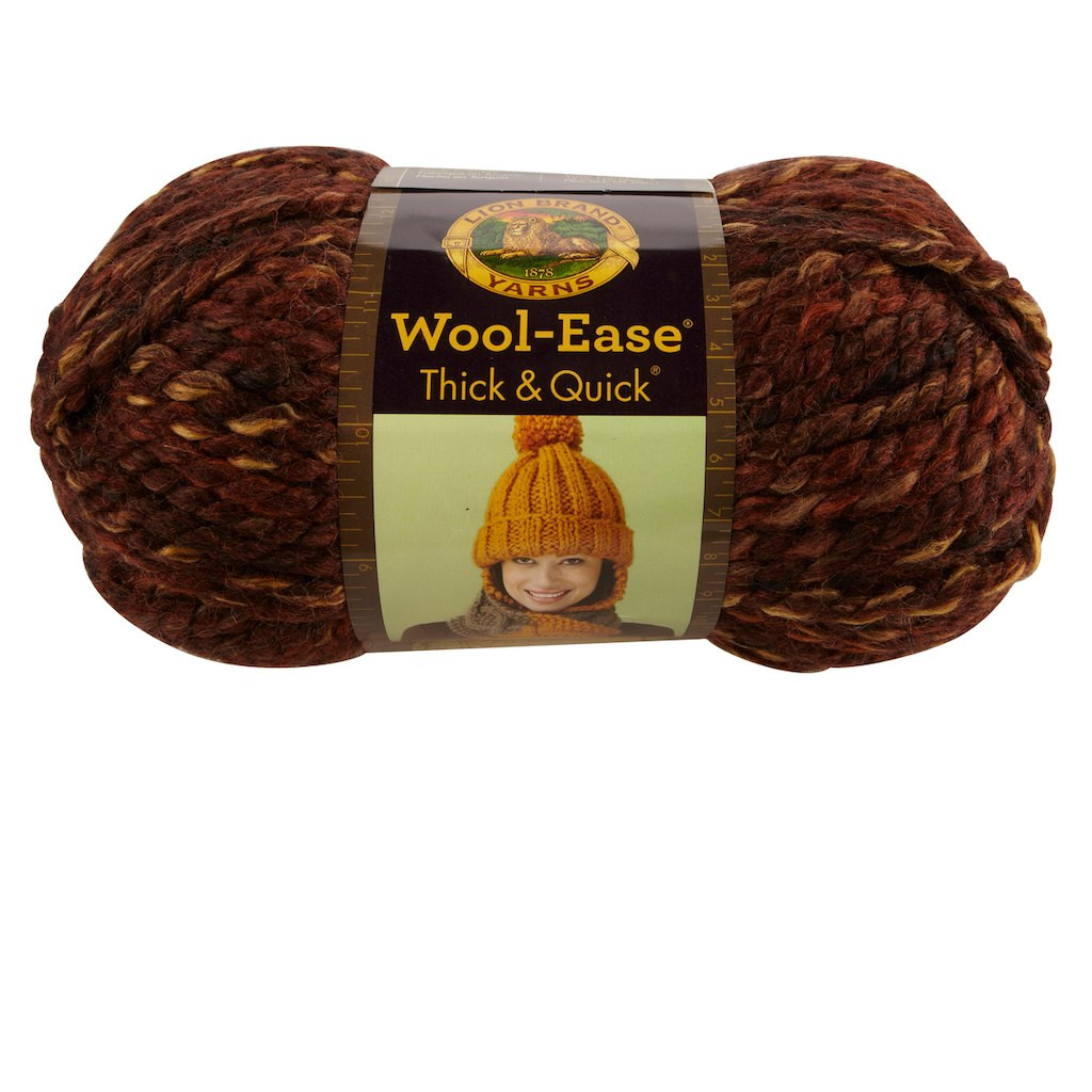 Lion Brand Wool Ease Thick & Quick Yarn Prints