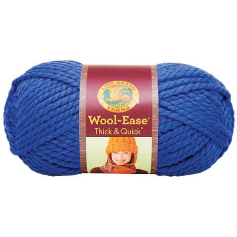 lion brand&% wool ease thick &amp quick yarn