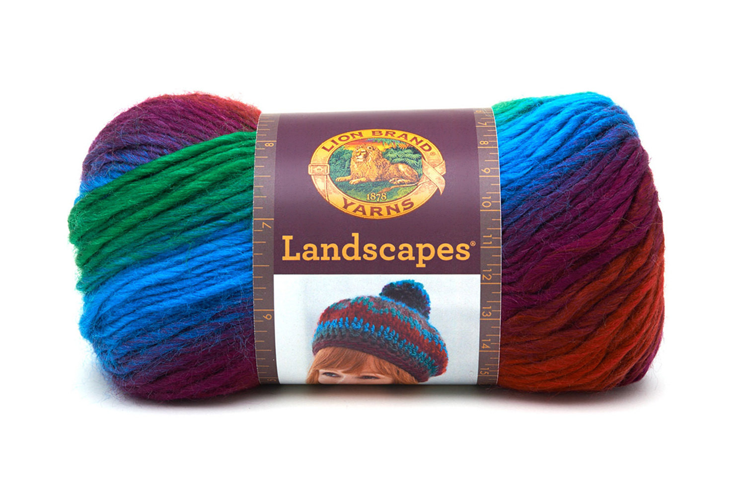 Lion Brand Wool New Lion Brand Landscapes Self Stripig Yarn In Apple orchard Of Fresh 40 Pictures Lion Brand Wool