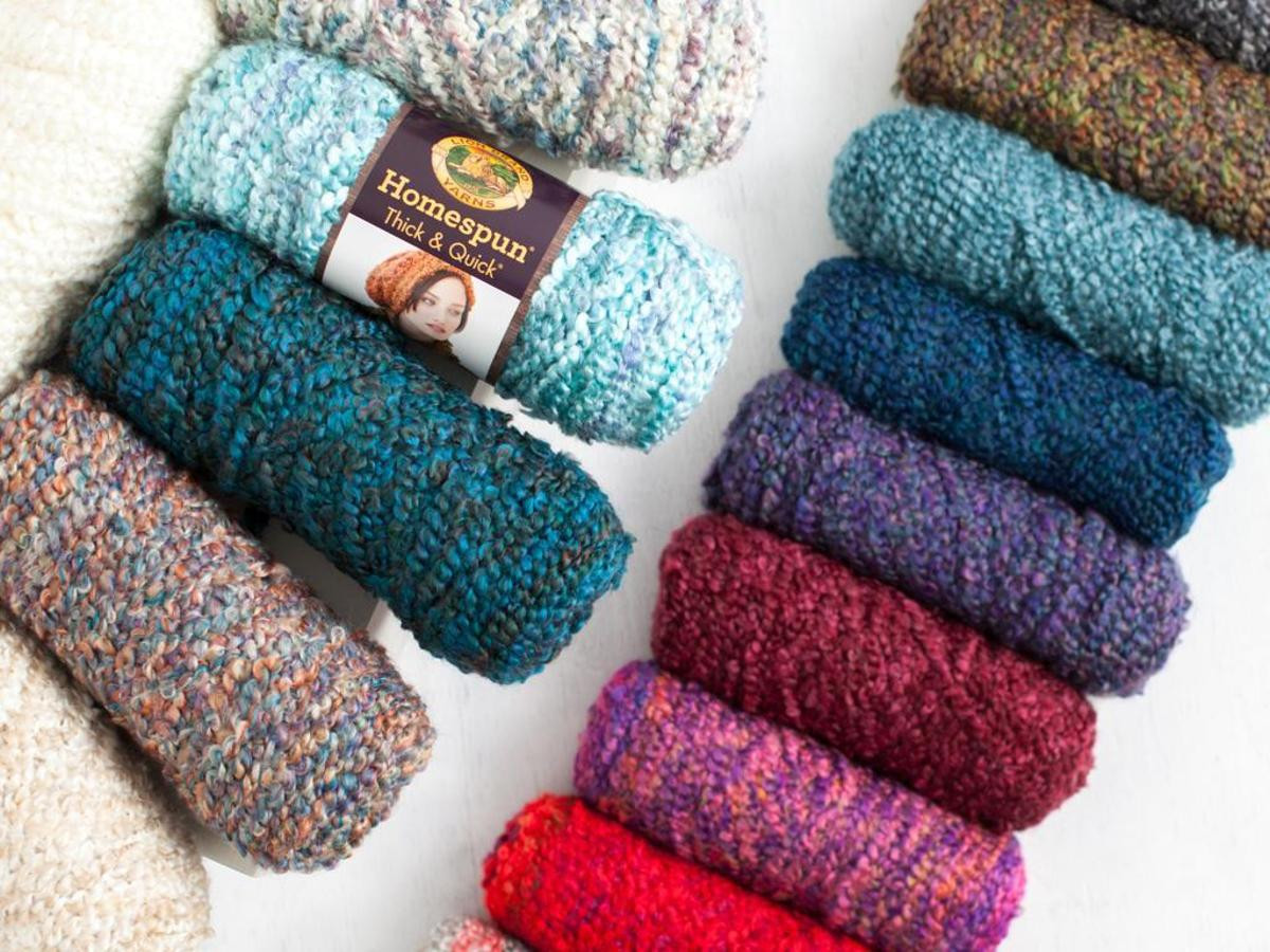 Lion Brand Yarn Beautiful Lion Brand Homespun Thick and Quick Yarn Craftsy Of Delightful 49 Models Lion Brand Yarn