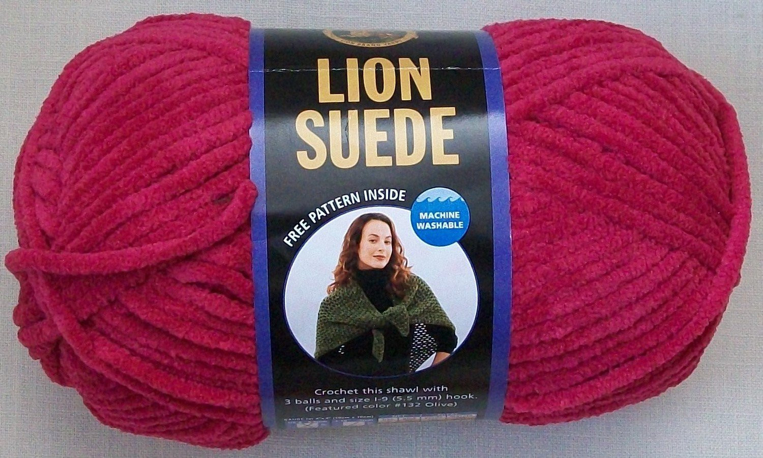 Lion Brand Suede Yarn 3 Skeins DISCONTINUED Choice of colors