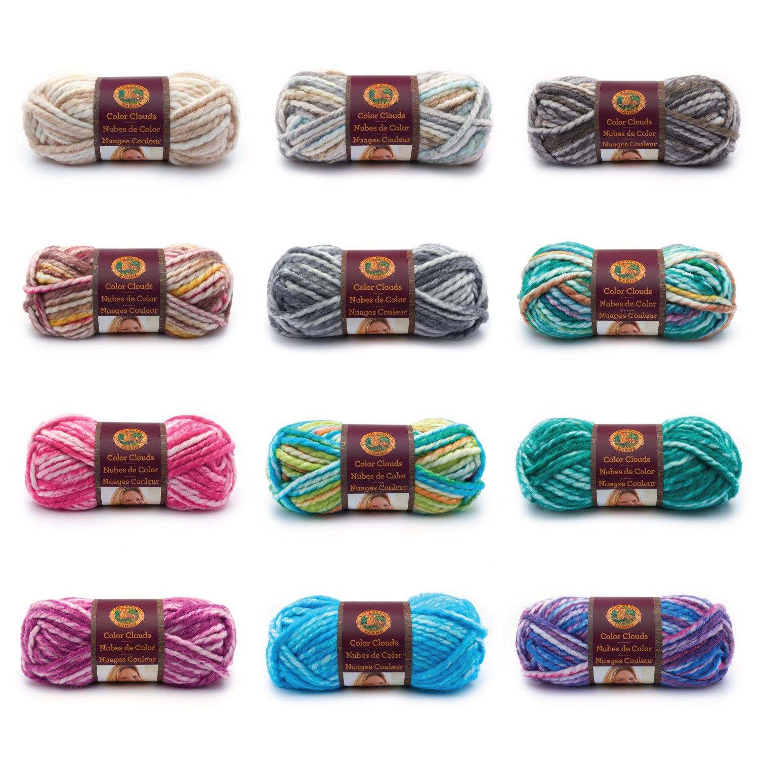 Lion Brand Yarn Luxury Wrap Up This Winter with Color Clouds Of Delightful 49 Models Lion Brand Yarn
