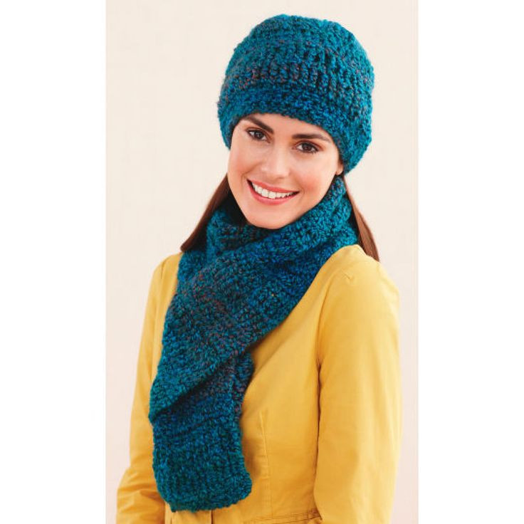 Lion Brand Yarn Patterns New Lion Brand Homespun Ridged Hat and Scarf Crochet Of Great 40 Ideas Lion Brand Yarn Patterns