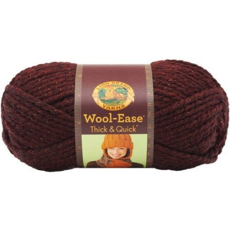 Lion Brand Wool Ease Thick & Quick Metallic Yarn