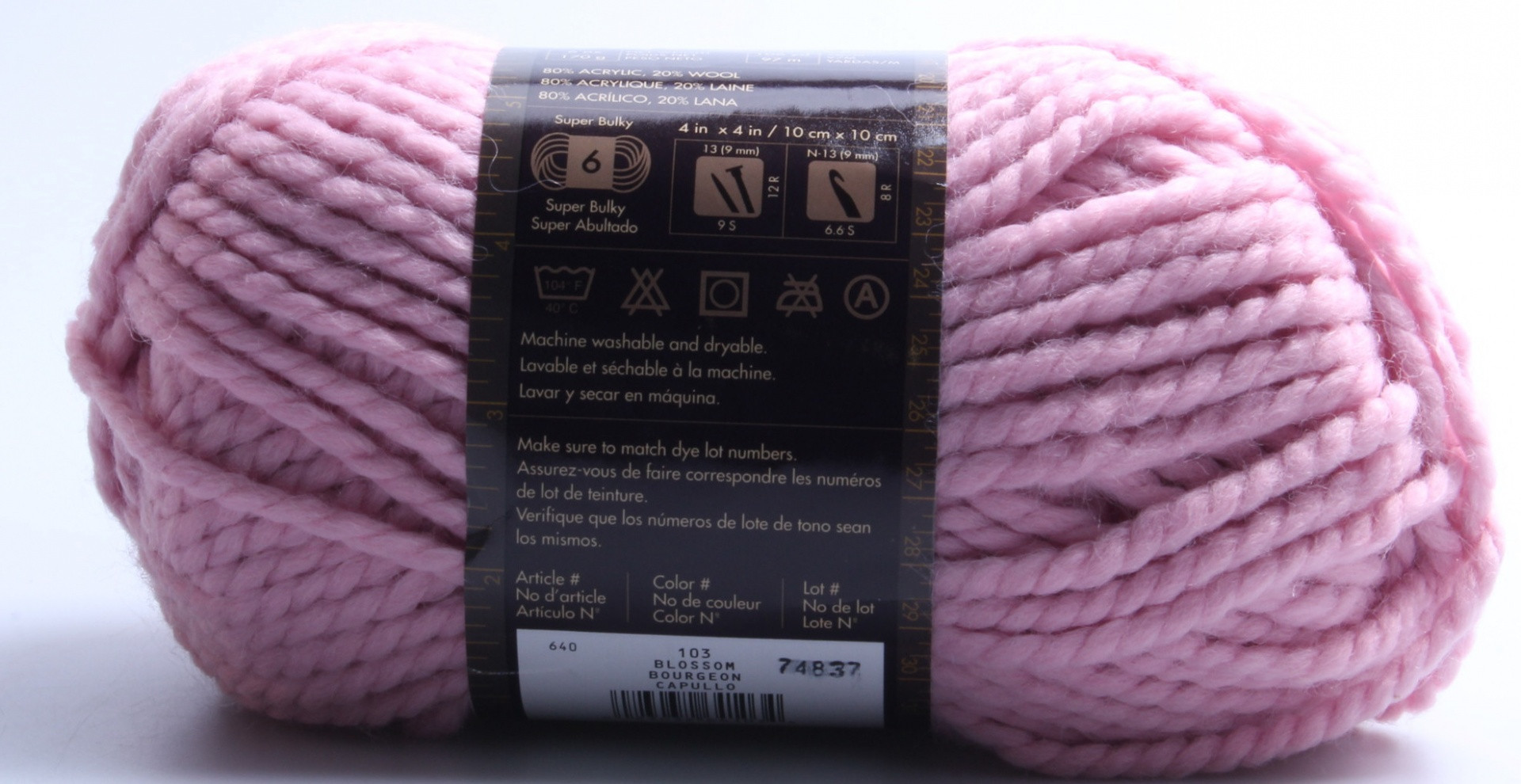 Lion Brand Wool Ease Thick and Quick Yarn Shipping is