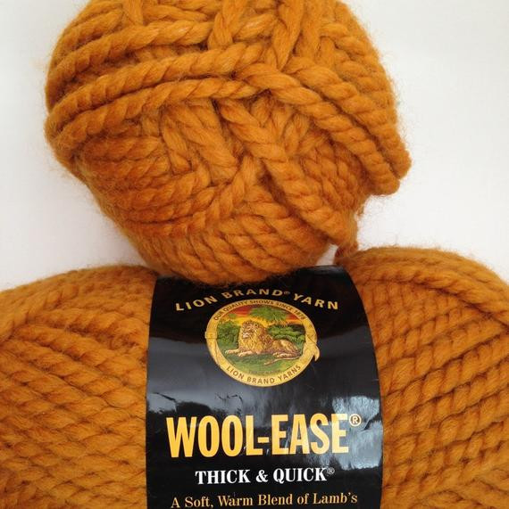 Lion Brand Yarn Thick and Quick Unique Lion Brand Wool Ease Thick & Quick Yarn Color butterscotch Of Luxury 44 Models Lion Brand Yarn Thick and Quick