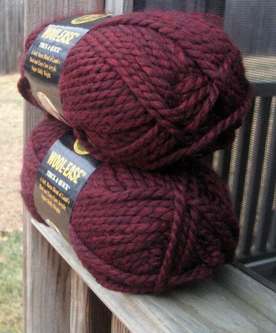 Lion Brand Yarn Thick and Quick Unique Lion Brand Wool Ease Yarn Claret Thick and Quick Lambs Wool Of Luxury 44 Models Lion Brand Yarn Thick and Quick
