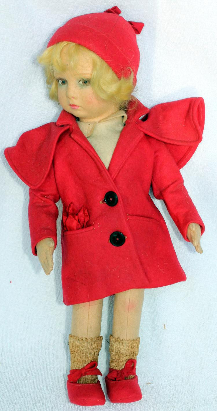 Little Red Riding Hood Doll Awesome Lenci Made In Italy Little Red Riding Hood Cloth Doll 2 Of Delightful 49 Models Little Red Riding Hood Doll