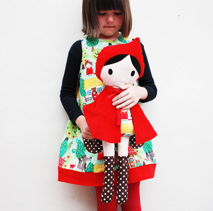 Little Red Riding Hood Doll Awesome Red Riding Hood Handmade Doll by Wild Things Funky Little Of Delightful 49 Models Little Red Riding Hood Doll