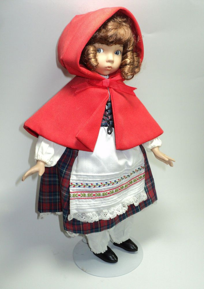 Little Red Riding Hood Doll Beautiful Little Red Riding Hood Porcelain Doll Dianna Effner Outfit Of Delightful 49 Models Little Red Riding Hood Doll