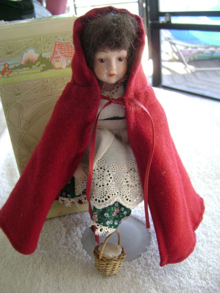 Little Red Riding Hood Doll Beautiful Vintage Avon Little Red Riding Hood Porcelain Doll Of Delightful 49 Models Little Red Riding Hood Doll