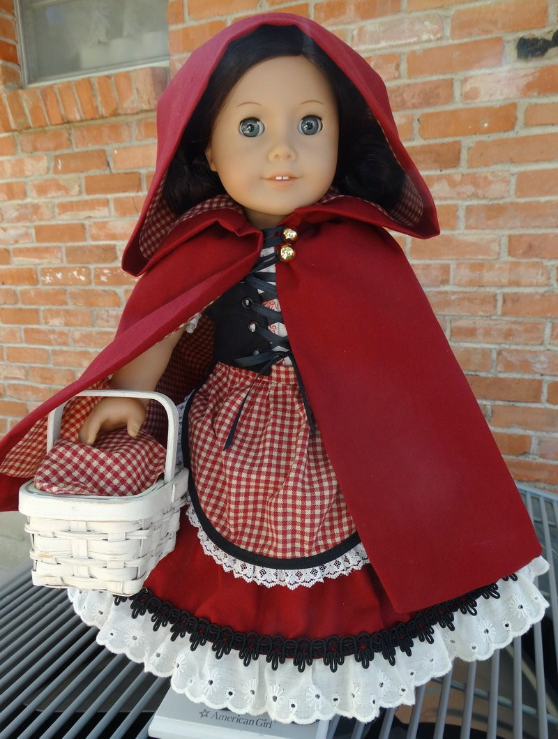 18 Doll Clothes Little Red Riding Hood Fairy Tale