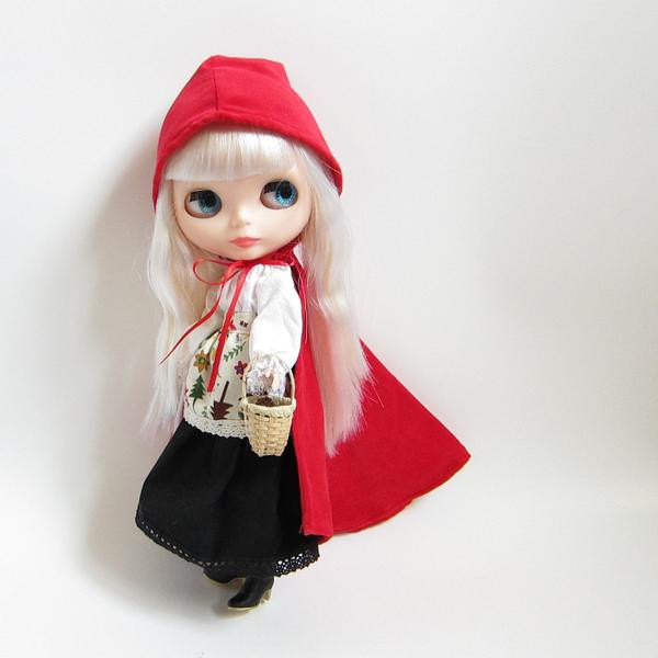 Little Red Riding Hood Doll Fresh Little Red Riding Hood Costume for Blythe & Pullip Dolls Of Delightful 49 Models Little Red Riding Hood Doll