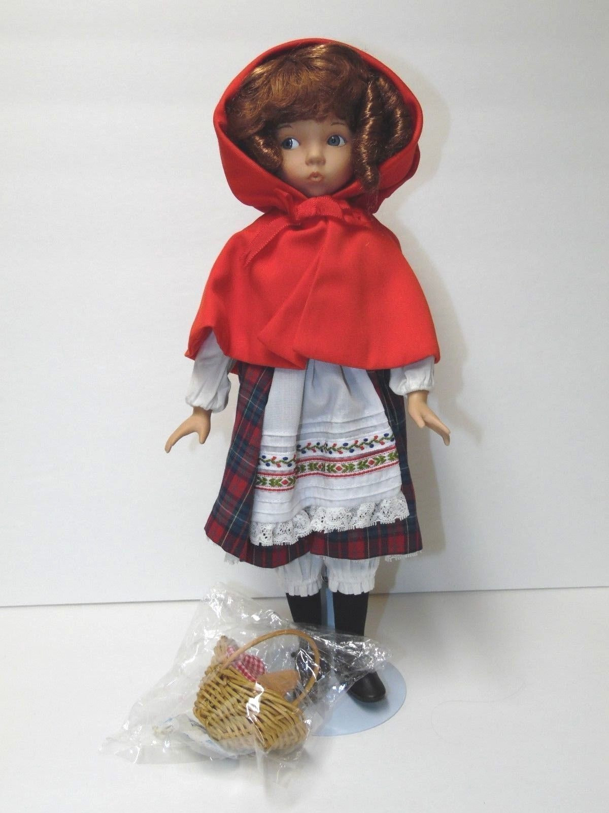 Little Red Riding Hood Doll Inspirational Little Red Riding Hood Doll Knowles Porcelain Effner Of Delightful 49 Models Little Red Riding Hood Doll