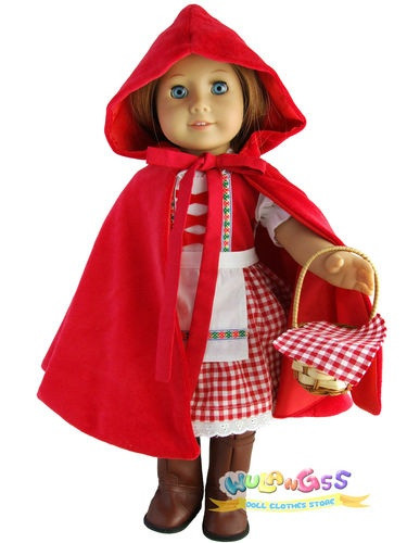 Little Red Riding Hood Doll Lovely 17 Best Images About Ag Doll Patterns Clothes Shoes Of Delightful 49 Models Little Red Riding Hood Doll