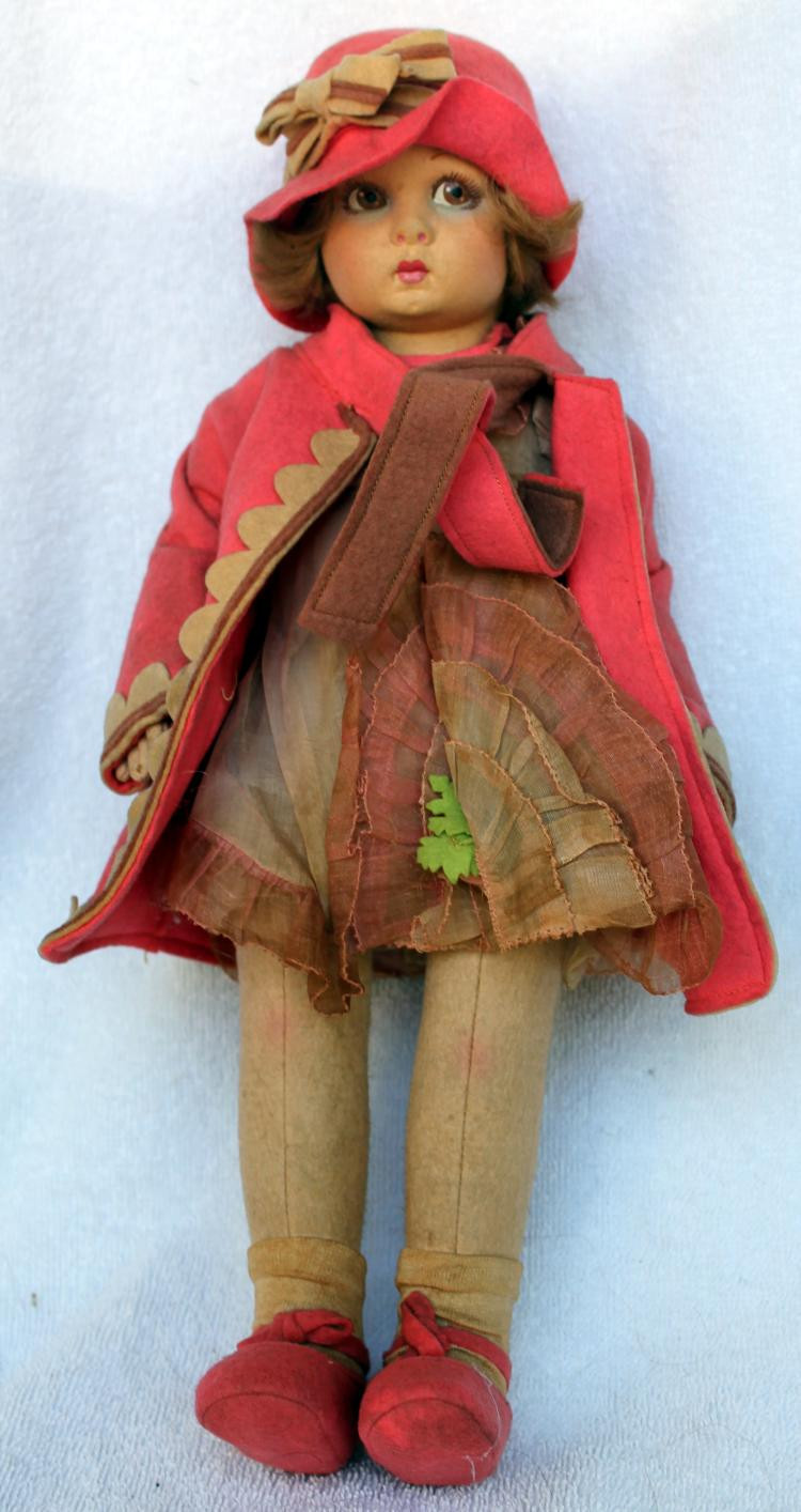 Little Red Riding Hood Doll Lovely Lenci Made In Italy Little Red Riding Hood Cloth Doll with T Of Delightful 49 Models Little Red Riding Hood Doll