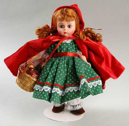 Little Red Riding Hood Doll Lovely Madame Alexander Storybook Doll at Replacements Ltd Of Delightful 49 Models Little Red Riding Hood Doll