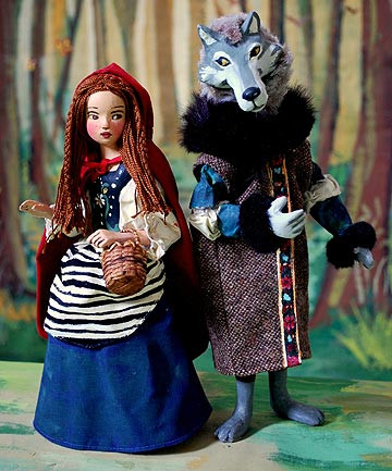 Little Red Riding Hood Doll Luxury Little Red Riding Hood and Wolf with Free Book by Nancy Of Delightful 49 Models Little Red Riding Hood Doll