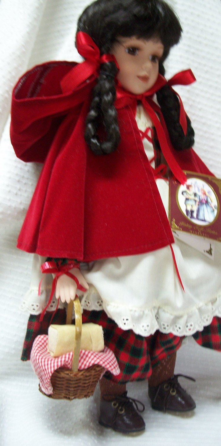 Little Red Riding Hood Doll New Little Red Riding Hood Porcelain Doll Vintage Of Delightful 49 Models Little Red Riding Hood Doll