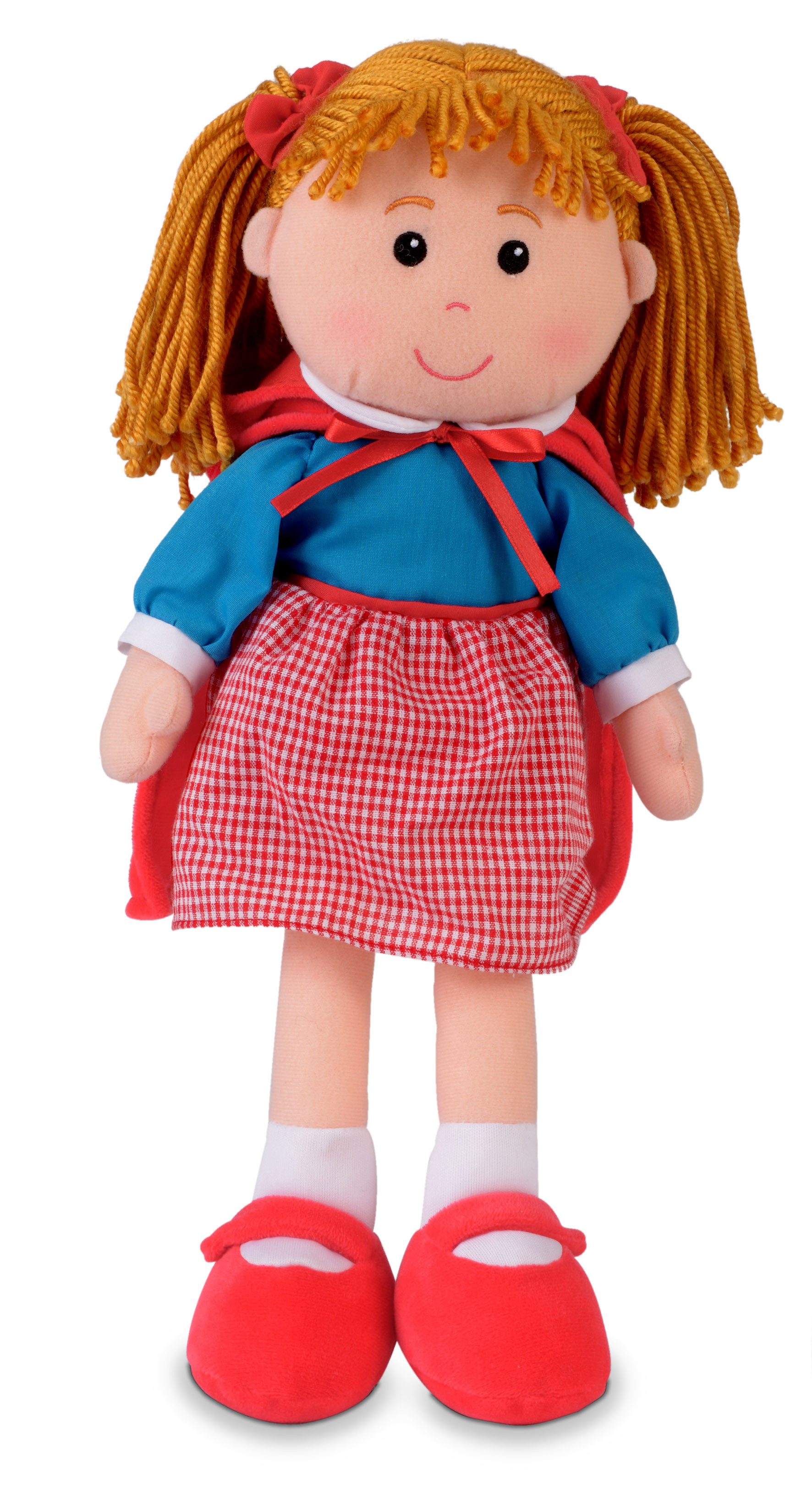 Childrens Little Red Riding Hood Rag Doll Dolly Soft Toy