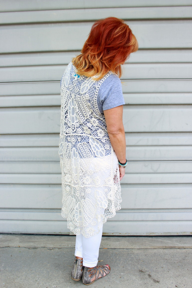 Long Crochet Vest Lovely Long Crochet Vest & White Jeans Adventures In Of Beautiful 46 Ideas Long Crochet Vest