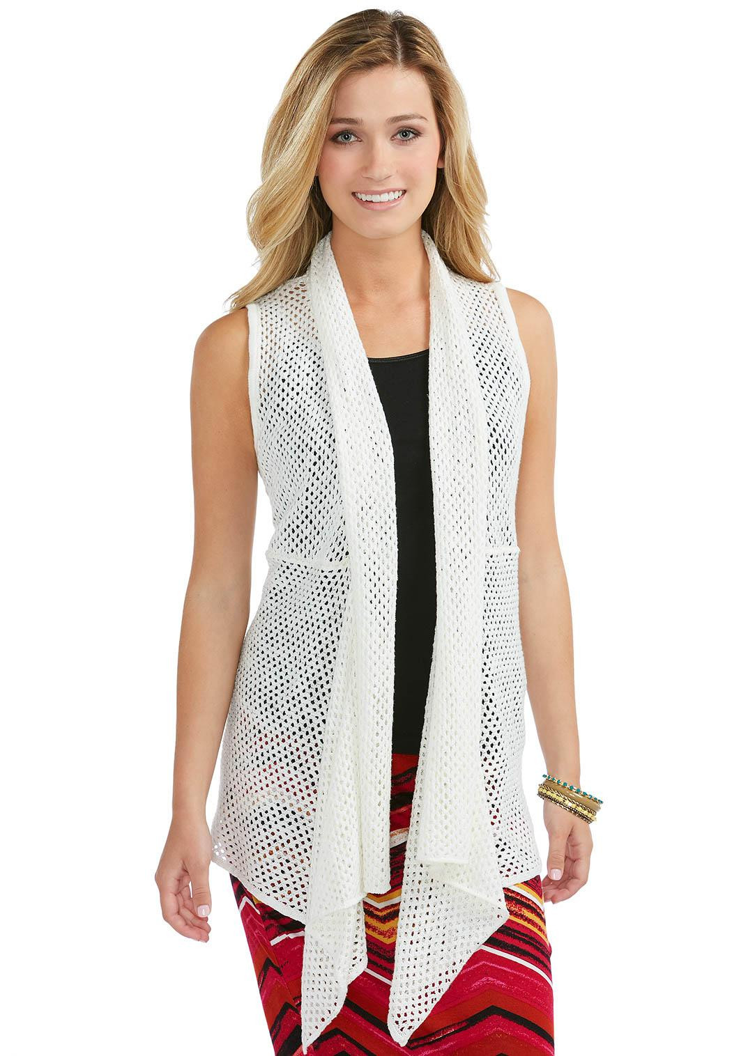 Long Crochet Vest Luxury Cato Fashions Of Beautiful 46 Ideas Long Crochet Vest