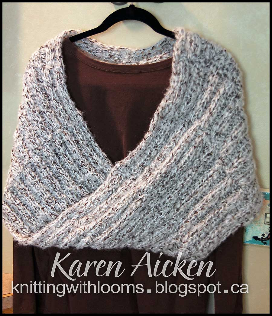 Loom Crochet Awesome Knitting with Looms Finished Mobius Shawl Of New 42 Pictures Loom Crochet
