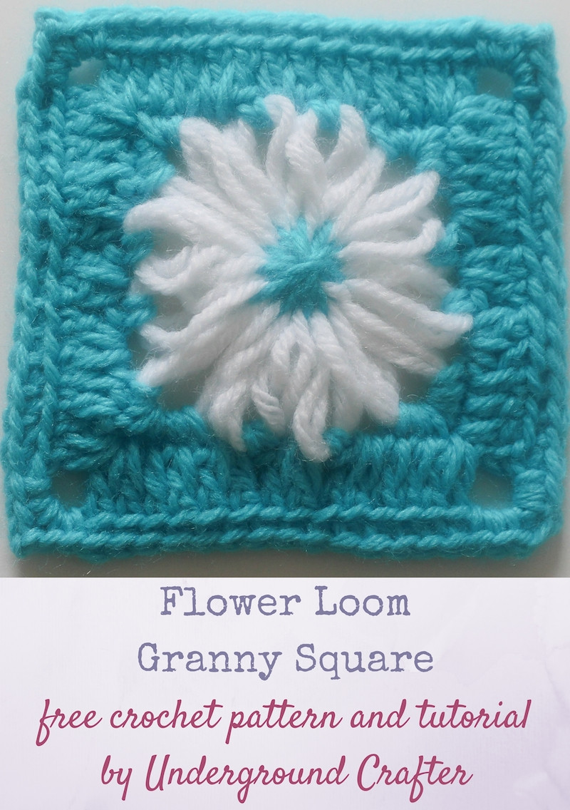 Loom Crochet Best Of Free Pattern Flower Loom Granny Square Of New 42 Pictures Loom Crochet