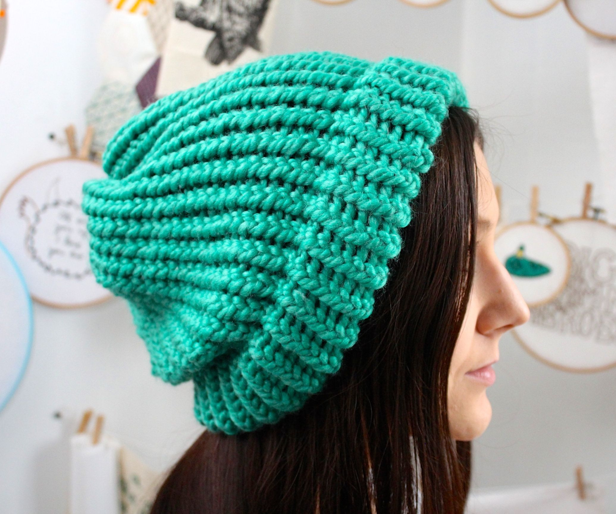 Loom Knit Hat Elegant Knit A Slouchy Hat On A Round Loom 6 Of Lovely 45 Ideas Loom Knit Hat