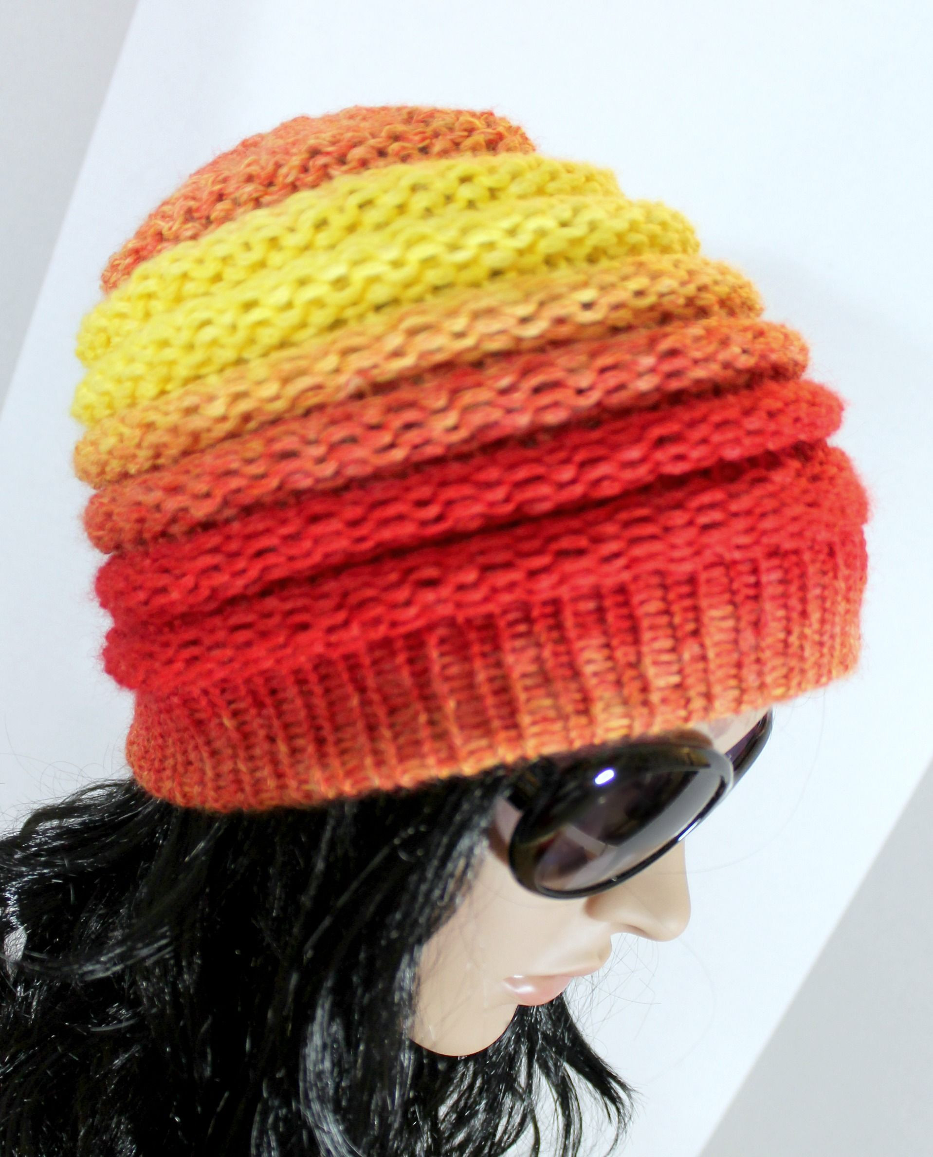 Loom Knit Hat Elegant Ombre Beanie Pattern Free Loom Knit Hat Pattern for Of Lovely 45 Ideas Loom Knit Hat