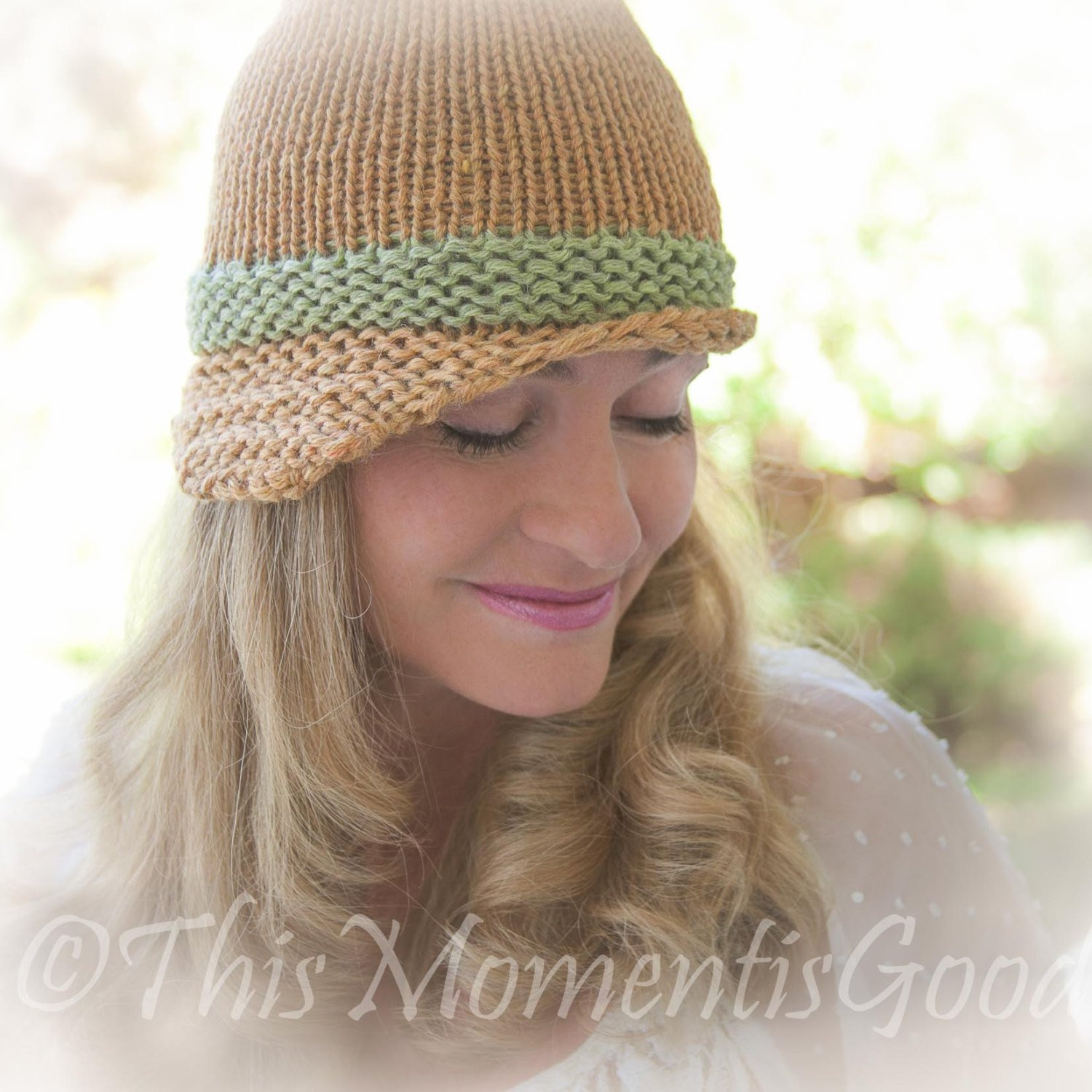 Loom Knit Hat Luxury Loom Knit Folded Brim Cloche Hat Pattern Vintage Style Hat Of Lovely 45 Ideas Loom Knit Hat