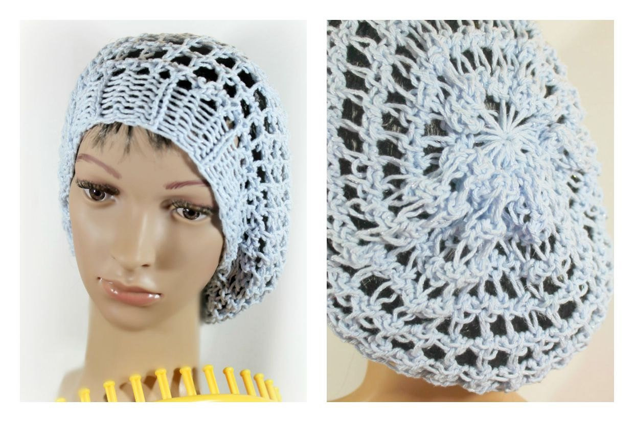 Loom Knit Hat Luxury Loom Knitting Pattern Hat Slouchy Snood with Video Tutorial Of Lovely 45 Ideas Loom Knit Hat