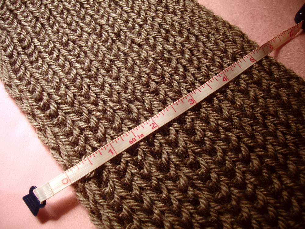 Gatuxedo A Blog About Stitching Infinity Scarf with