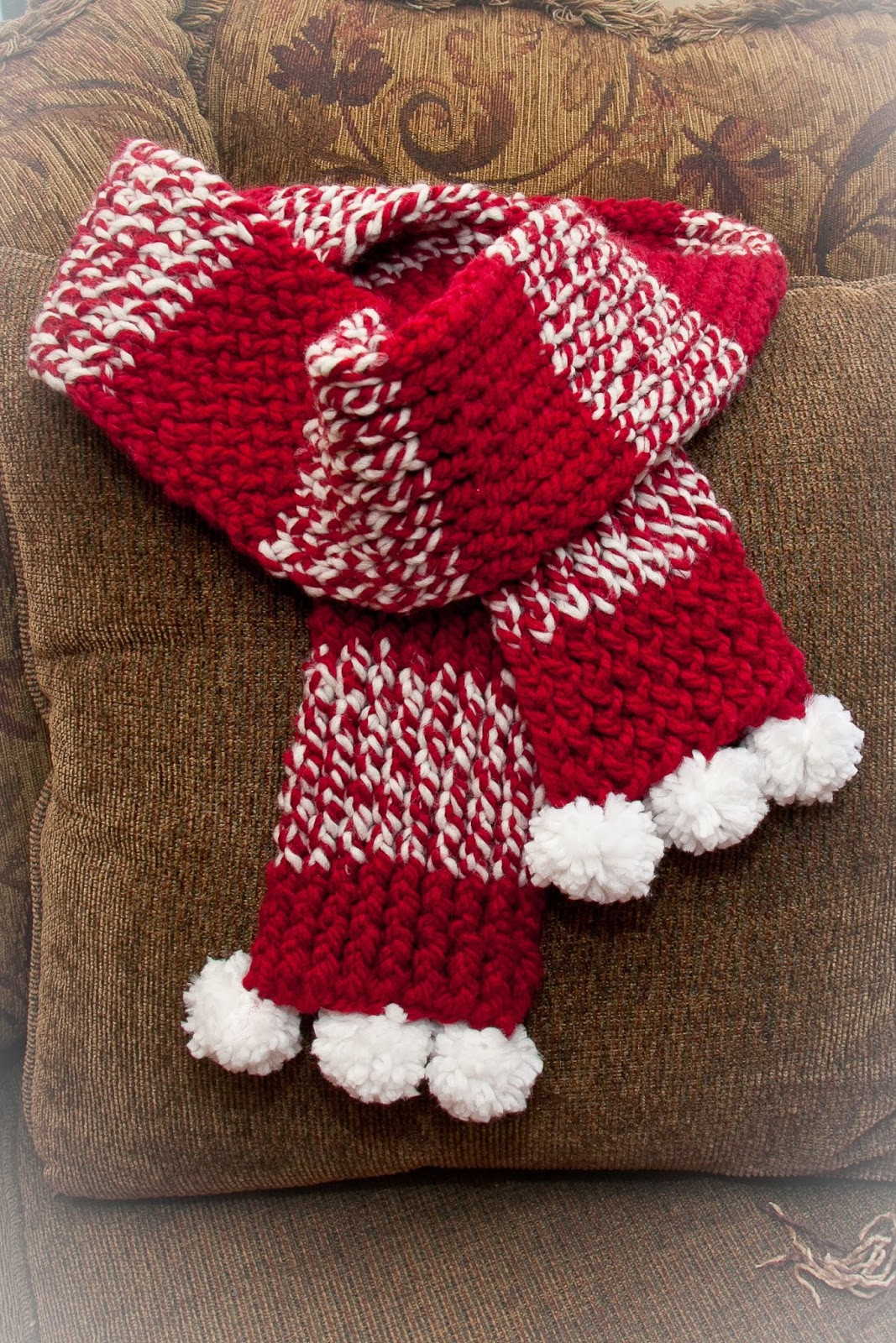 Loom Knitting Scarf Best Of Loom Knit Holiday Scarf Of Brilliant 41 Pics Loom Knitting Scarf