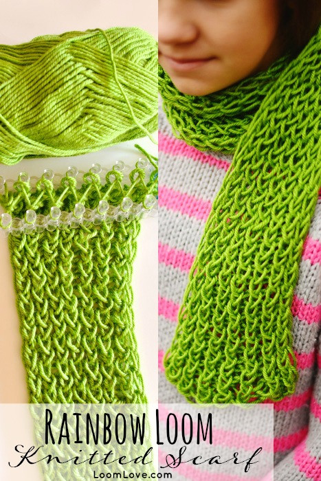 Loom Knitting Scarf Inspirational How to Make A Knitted Scarf Your Rainbow Loom Of Brilliant 41 Pics Loom Knitting Scarf