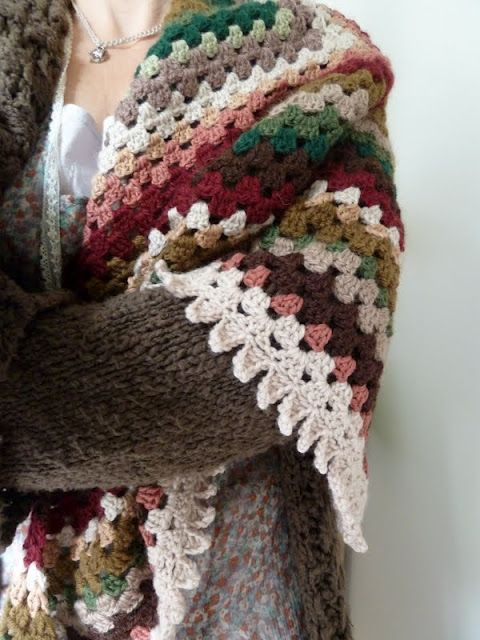 Love Of Crochet Awesome Crocheted Shawl Granny Square Shawl Perfect for Yarn Of Awesome 49 Ideas Love Of Crochet